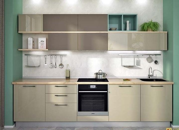 Линейная кухня 6