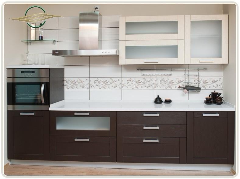 Кухня на заказ цвета венге