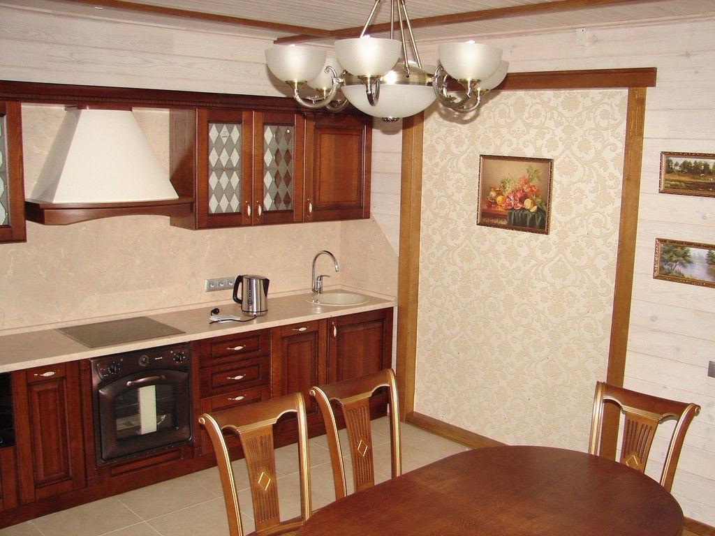 линейная кухня на заказ в Минске