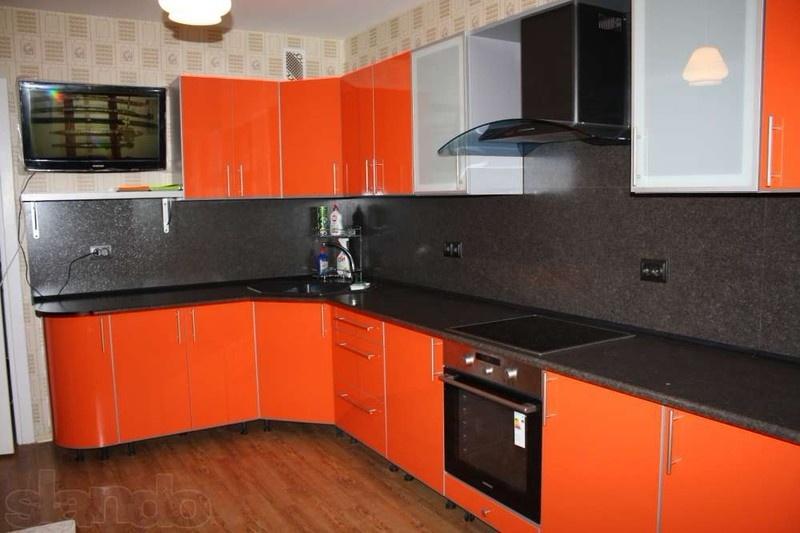 Кухни из пластика фото 38