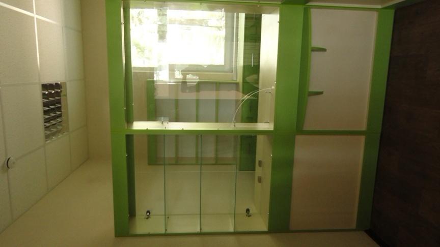 мебель для маленькой аптеки на заказ зеленая фото 15