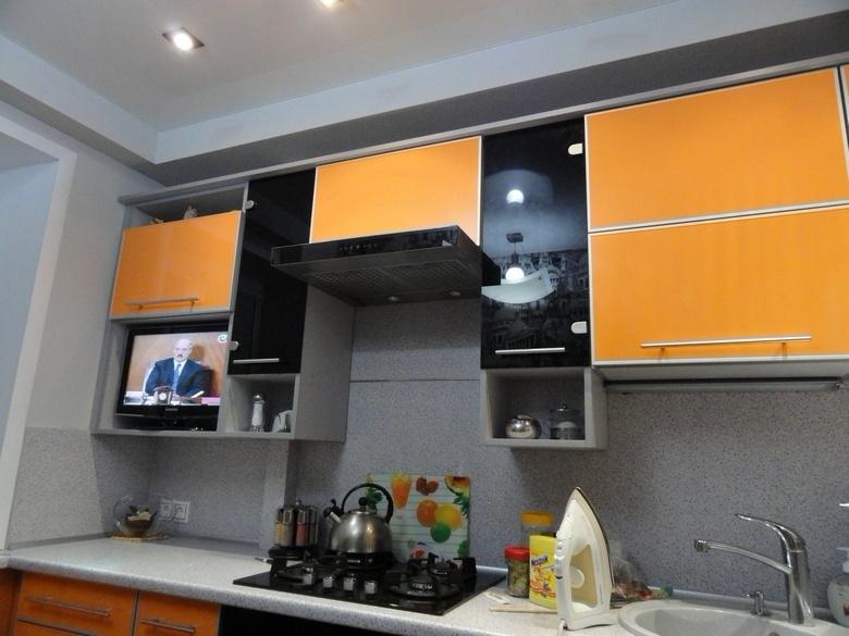 Линейная кухня фото 21