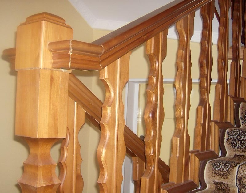 Балясины для лестниц на заказ фото 9