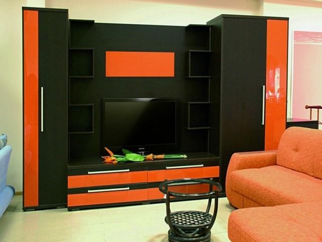 Корпусная стенка мебель фото 11