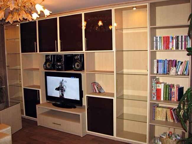 корпусная мебель для гостиной на заказ