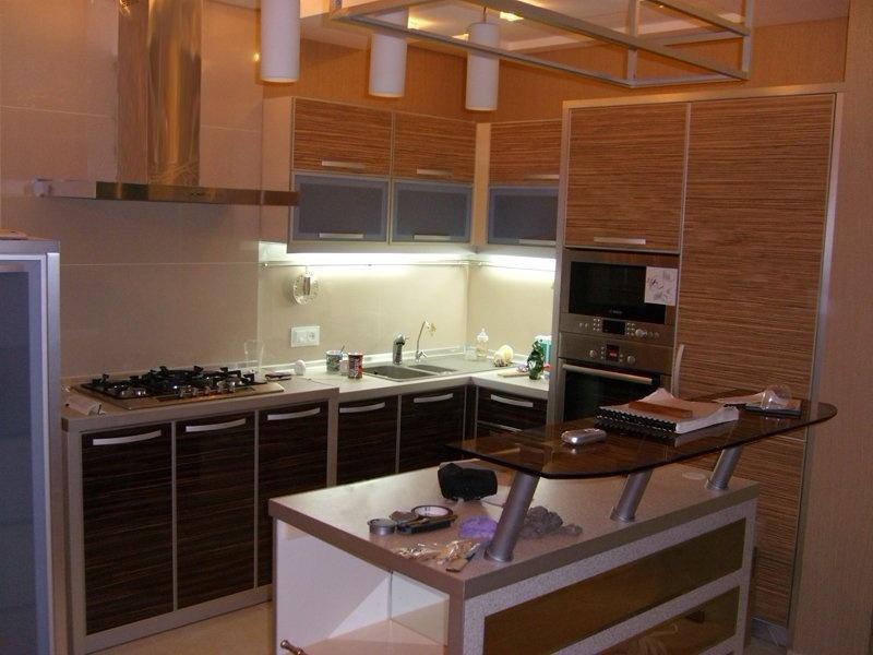 Кухни из пластика фото 22