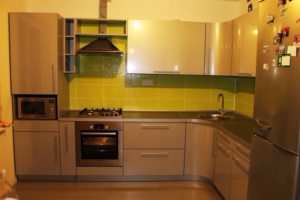 Кухни из пластика фото 37
