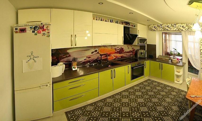 Кухни из пластика фото 33