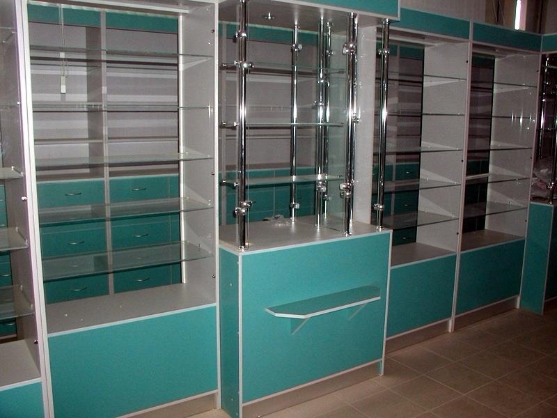 мебель для небольшой аптеки на заказ недорого