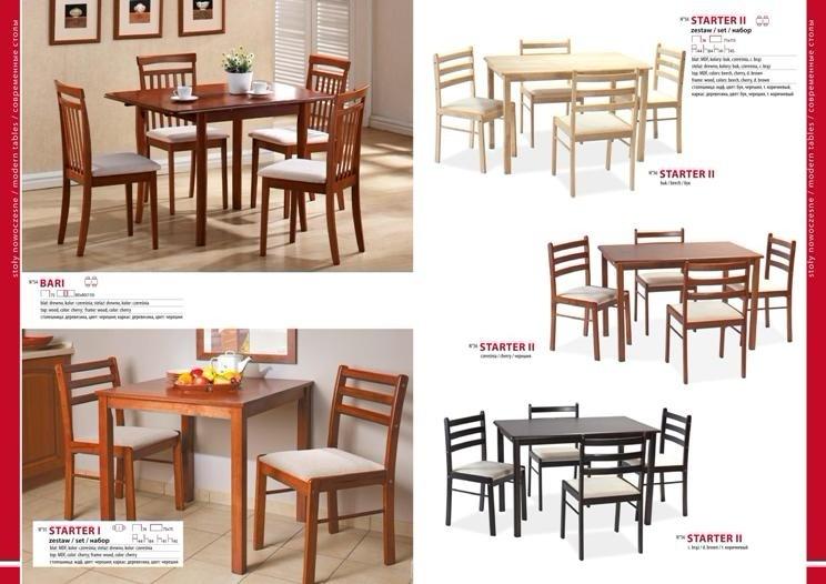 Столы и стулья для гостиной каталог фото 2