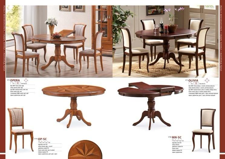 Столы и стулья для гостиной каталог фото 4