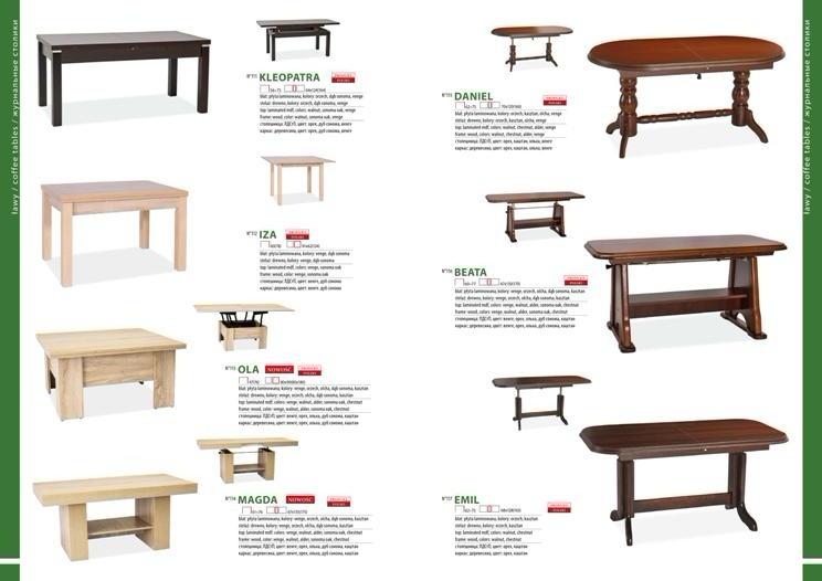 Столы и стулья для гостиной каталог фото 7