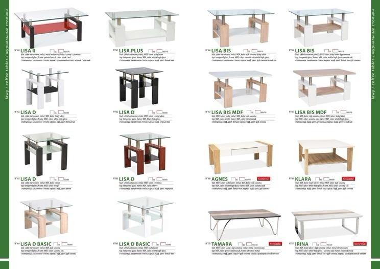 Столы и стулья для гостиной каталог фото 11