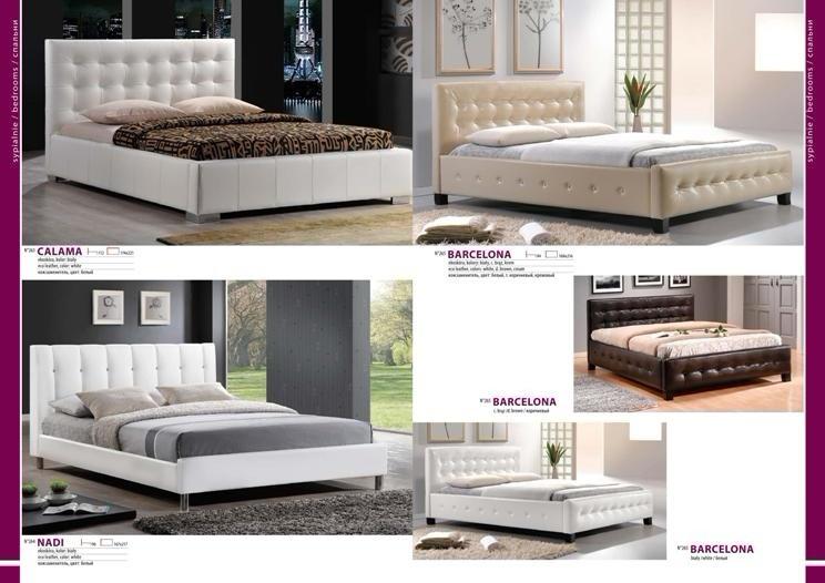 Кровать на заказ каталог ВиваМебель