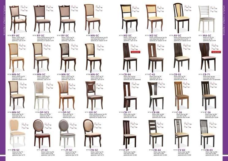 стулья для гостиной каталог фото 17