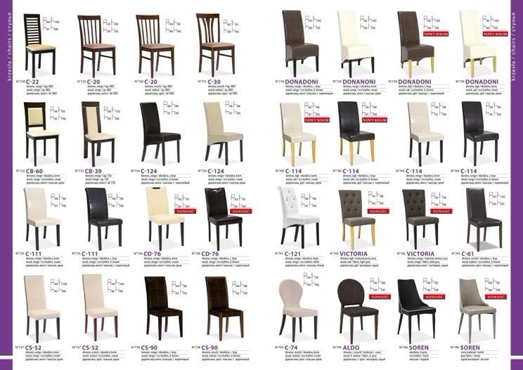 стулья для гостиной каталог фото