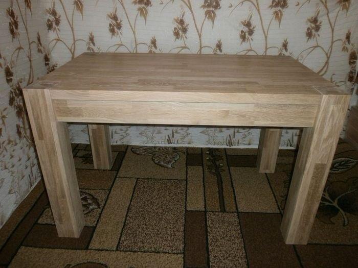 стол из клееного щита