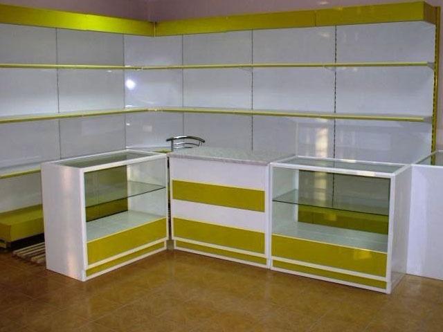 Стеллаж витрина для аптеки фото 4