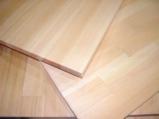 Клееный щит мебельный деревянный